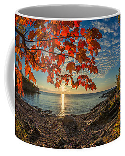 Autumn Bay Near Shovel Point Coffee Mug