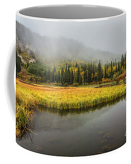 Autumn Begins At Silver Lake Coffee Mug
