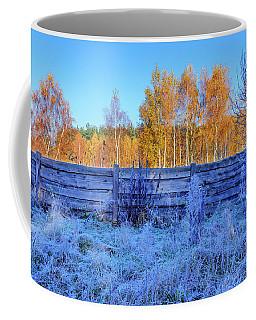 Autumn Behind Coffee Mug