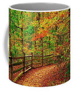 Autumn Bend - Allaire State Park Coffee Mug