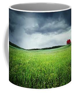 Coffee Mug featuring the photograph Autumn by Bess Hamiti