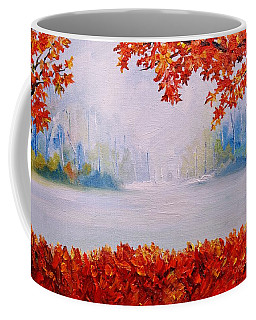 Autumn Blaze Maple Trees Coffee Mug