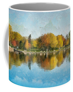Autumn Blues Coffee Mug