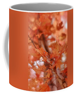 Coffee Mug featuring the photograph Autumn Blush by Diane Alexander