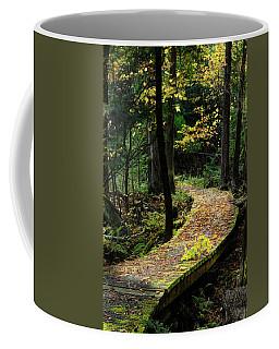 Autumn Boardwalk Coffee Mug