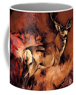 Autumn Buck Coffee Mug