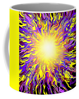 Autumn Burst 1 2016 Coffee Mug by Yvonne Blasy