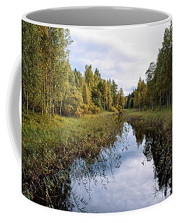 Autumn By The Riverside Coffee Mug