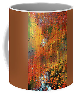 Coffee Mug featuring the photograph Autumn Cascade by Jessica Jenney