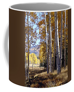 Autumn Chama New Mexico Coffee Mug by Kurt Van Wagner