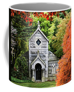 Autumn Chapel Coffee Mug