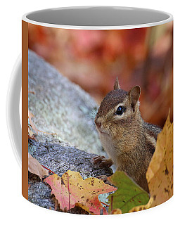Autumn Chipmunk Coffee Mug