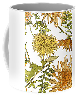 Autumn Chrysanthemums II Coffee Mug
