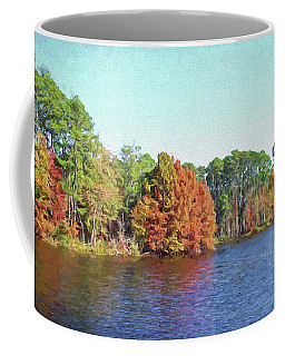 Autumn Color At Ratcliffe Lake Coffee Mug