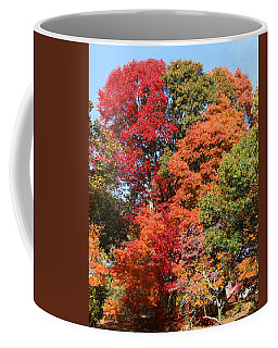 Autumn Color Spray Coffee Mug
