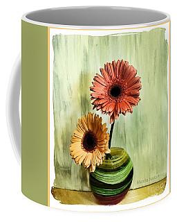 Autumn Colored Gerber Daisies Coffee Mug