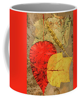 Coffee Mug featuring the painting Autumn Colors by John Dyess