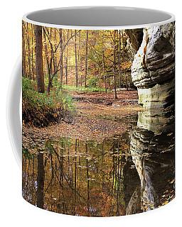 Autumn Comes  To Illinois Canyon  Coffee Mug