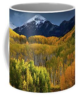 Autumn Comes To The Ruby Range Coffee Mug