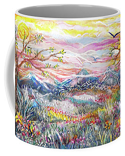 Autumn Country Mountains Coffee Mug