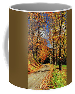 Autumn Country Road Coffee Mug