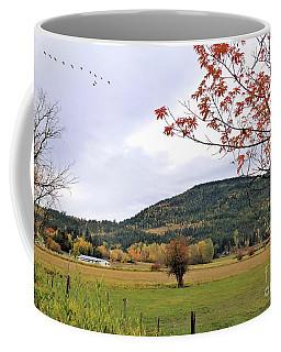 Autumn Country View Coffee Mug