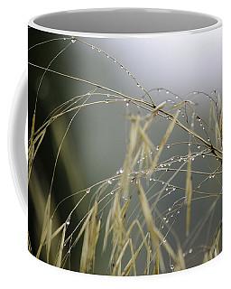 Autumn Dew On Grass Coffee Mug