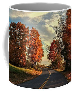 Autumn Drive Coffee Mug