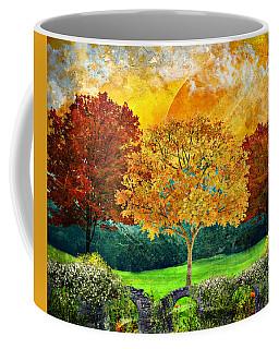 Autumn Fantasy Coffee Mug by Ally White
