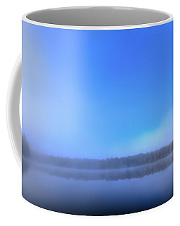 Coffee Mug featuring the photograph Autumn Fog Over West Lake by David Patterson
