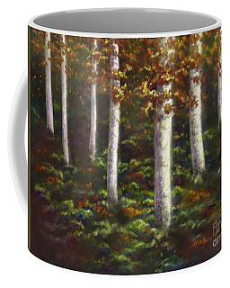Coffee Mug featuring the digital art Autumn Ghosts by Amyla Silverflame