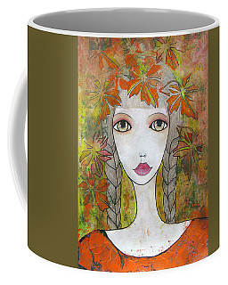 Autumn Girl  Coffee Mug