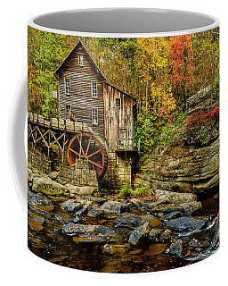 Coffee Mug featuring the photograph Autumn Glade Creek Grist Mill  by Thomas R Fletcher