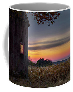 Coffee Mug featuring the photograph Autumn Glow by Bill Wakeley