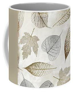 Autumn Gold Leaf Pattern II Coffee Mug