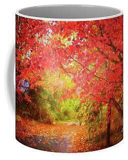 Glorious Foliage On The Rail Trail Coffee Mug