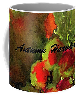 Autumn Harvest Painting Wordzy Art Coffee Mug