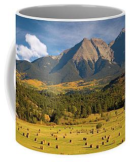 Autumn Hay In The Rockies Coffee Mug