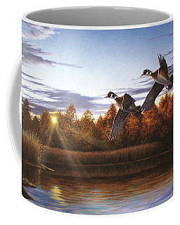 Autumn Home - Wood Ducks Coffee Mug