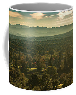 Coffee Mug featuring the photograph Autumn In Ashville, Nc by Richard Goldman