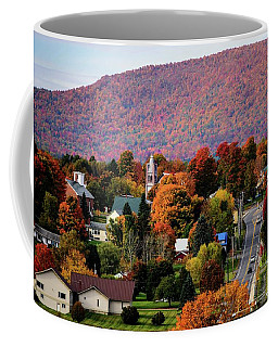 Autumn In Danville Vermont Coffee Mug by Sherman Perry