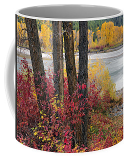 Autumn In East Idaho Coffee Mug by Leland D Howard