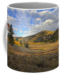 Coffee Mug featuring the photograph Autumn In Joe's Valley by Spencer Baugh