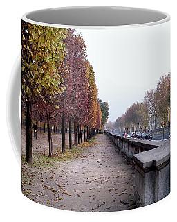 Autumn In Layers - Paris Coffee Mug