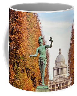 Autumn In Luxembourg Gardens Coffee Mug