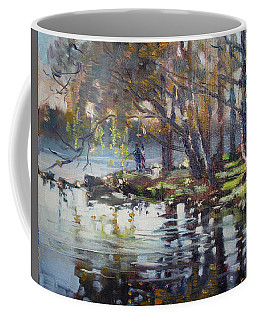 Autumn In Marines Memorial Park Coffee Mug