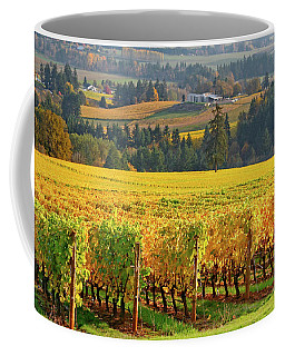 Autumn In Oregon Wine Country Coffee Mug