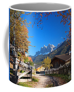 Autumn In South Tyrol Coffee Mug