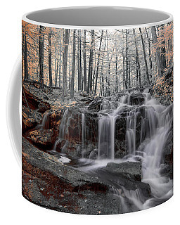 Coffee Mug featuring the photograph Autumn In Spring Infrared by Brian Hale