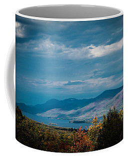 Autumn In The Adirondacks Coffee Mug by Sara Frank